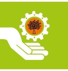 Symbol environment gear tree vector