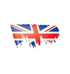 united kingdom flag on a vector image
