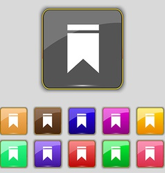 Web stickers tags and banners Sale icon sign Set vector image