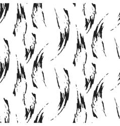 Paint ink brush stroke seamless pattern vector image