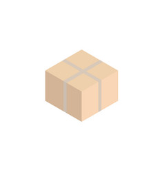 box isometric icon vector image