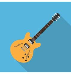 Flat guitar 5 vector