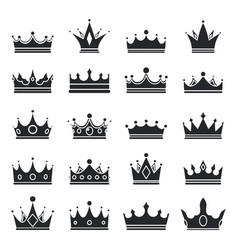 medieval royal crown queen monarch king lord vector image