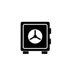 money safe box icon vector image