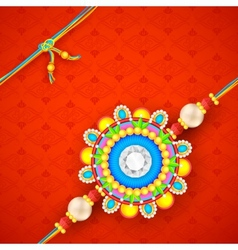 Raksha Bandhan background vector image