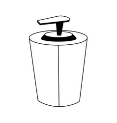 soap dispenser icon image vector image
