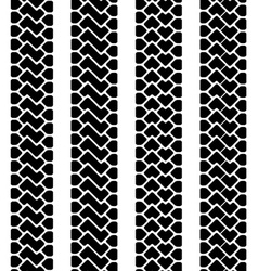 trace of the terrain tyres seamless vector image
