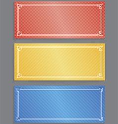 Vouchers vector image