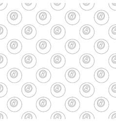 Eightball pattern seamless vector