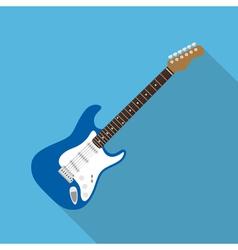 Flat guitar vector