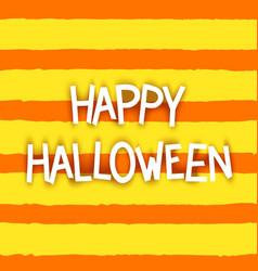 Happy halloween design temolate vector
