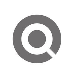 Letter Q Logo Concept Icon vector image