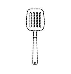 Spatula for frying icon vector