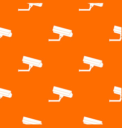 Surveillance camera pattern seamless vector