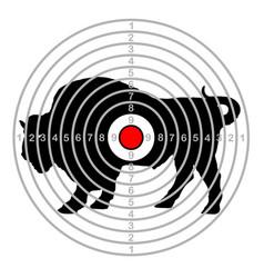 Target shoot range vector
