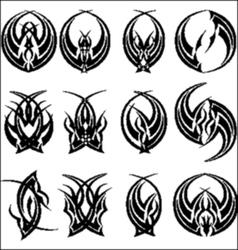 Tatto abastrak vector