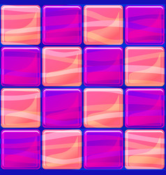 Tiles texture seamless with waves vector