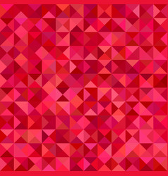 Abstract pyramid background - mosaic design from vector