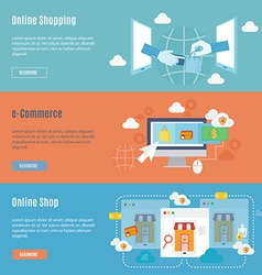Element of shopping concept icon in flat design vector image