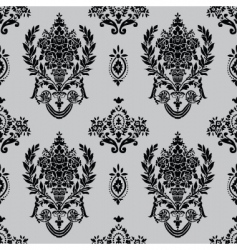 ornamental rose vector image vector image