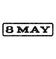 8 may watermark stamp vector