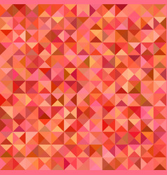 Abstract triangle tile mosaic background vector