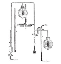apparatus for measuring gas concentration vector image