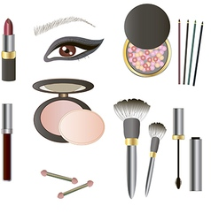 Beauty Products - Art vector image