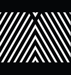 Black and white diagonal lines with stipes vector