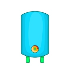 Boiler water heater icon cartoon style vector