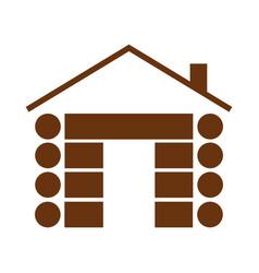 Cabin symbol vector