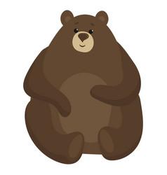 Cartoon bear a bear vector