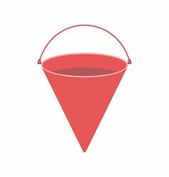 Fire bucket vector