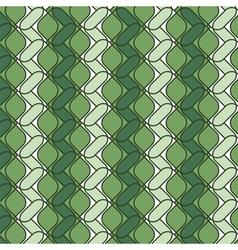 ornamental green color backdrop vector image
