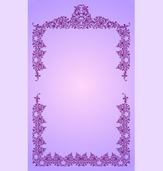 Royal frame vector