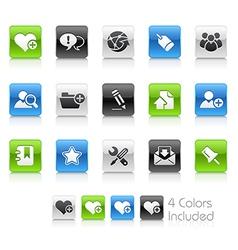 Internet Blog Clean Series vector image vector image