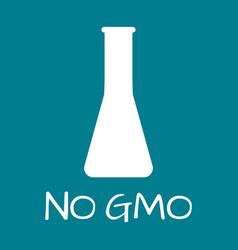 no gmo label food intolerance symbols vector image vector image