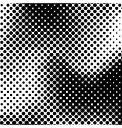 Black Halftone Background vector image vector image