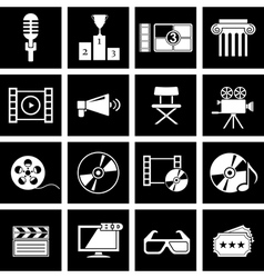 movie icon vector image