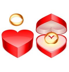 ring box vector image