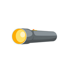 Black flash light vector