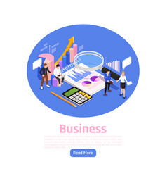 business management page design vector image