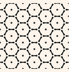 Minimalist geometric seamless pattern vector