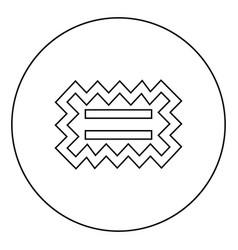 Special glue needed designation on wallpaper vector