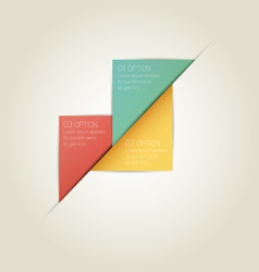 Triangle Infographic Background with Sample Text vector