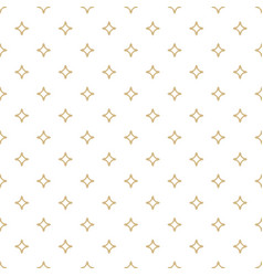 White and gold ornamental seamless pattern vector