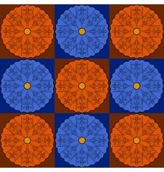 Art abstract floor geometric seamless pattern vector image