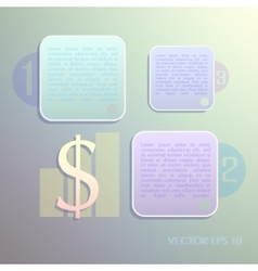 background Infographics vector image vector image