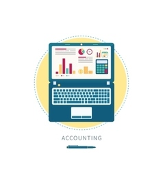 Accounting vector image