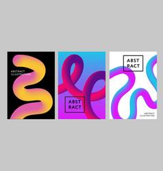 abstract gradient in sphere violet pink vector image